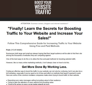Boost Website Traffic Business Website For Sale You Keep 100 Of The Money