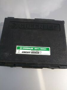 Greenlee 2011 00521 Power Finder Circuit Seeker Good Condition Fast Shipping