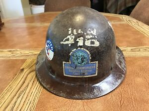 Vintage Us Union Ironworkers Local 416 Amazing Well Used Condition