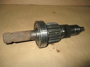 Farmall International 806 1000 Pto Shaft 120985