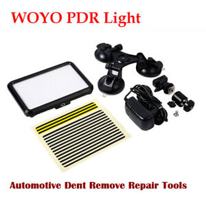 Woyo Pdr Light Paintless Automotive Dent Remove Repair Pdr Tool Led Display