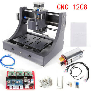 Mini 3axis Cnc 1208 Router Engraving Machine Pcb Milling Wood Mill Free Shipping
