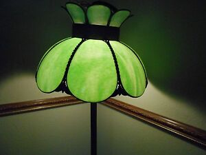 Stained Glass Lamp Shade Vintage Shade Or Hanging