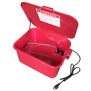 3 5 Gallon Portable Automotive Parts Washer Electric Pump Cleaning Tool