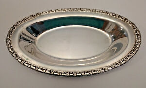Silverplate Bread Tray Camelot International Silver Company Vintage Antique