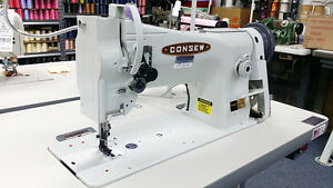 Consew 206rb5 Walking Foot Leather And Upholstery Sewing Machine Head Only