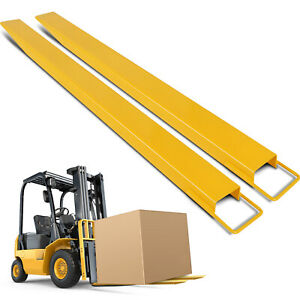 72 X5 Forklift Pallet Fork Extensions Pair Lift Truck For Forklifts Durable