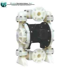 Tf Double Diaphragm Air Pump Chemical Industrial Polypropylene 1 5 Inch