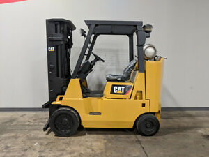 2005 Cat Caterpillar Gc40k 8000lb Cushion Forklift Lpg Lift Truck Hi Lo 86 183