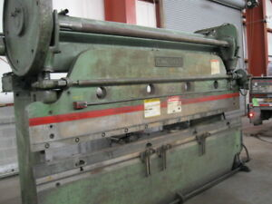 Press Brake 135t Cincinnati 5 10 12 O a 10 6 B h Hurco 6 Bg