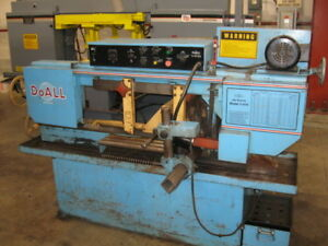 Horizontal Band Saw 9 X 16 Do all C 916a Auto Feed 1 Blade 2 Hp 89