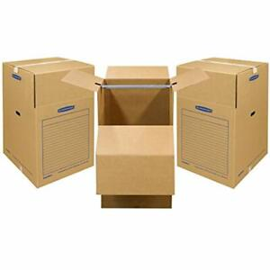Sale Smoothmove Wardrobe Moving Boxes Short 20 34 Inches Pack 7710902