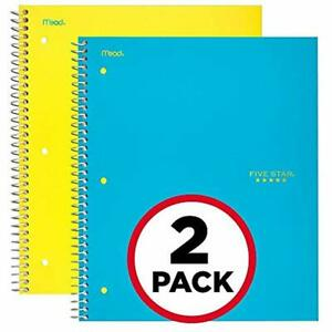 Sale Spiral Notebooks 5 Subject College Ruled Paper 200 Sheets 11 X 8 1 2
