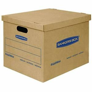 Sale Smoothmove Classic Moving Boxes Tape free Assembly Easy Carry Handles 18
