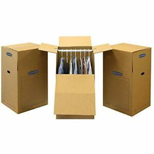 Sale Smoothmove Wardrobe Moving Boxes Tall 24 40 Inches 3 Pack 7711001