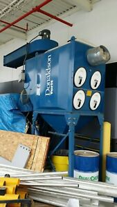 Donaldson torit Dfo2 8 Dust Collector 15 Hp Motor 4000 Cfm Dry Collection 2007