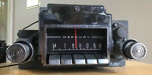 Vintage Mercury Fomoco Am Radio Receiver In Dash Car Auto Truck Stereo Antique