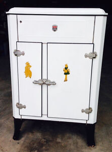 Rare Antique 1920 30 S Majestic Electric Refrigerator Ice Box Grigsby Grunow Co