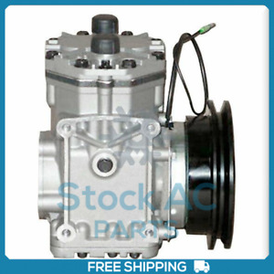 New A C Compressor With Clutch York Fits Ford Mustang 1964 1971 Qr