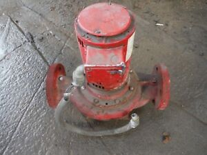 Bell And Gossett Circulating Pump Model 802 Tb 80 Pump