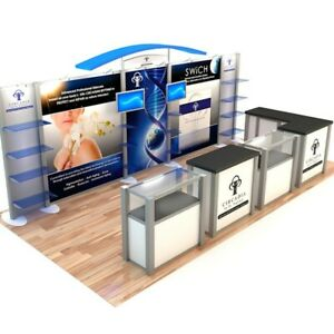 10x20 Modular Trade Show Display Exhibit Booth