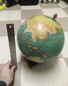 Cram S Universal Terrestrial Globe Late 1940s 1945 1948 Fair Condition