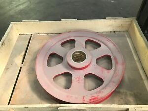 Crane Sheave Pulley 27 Oad For 2 25 Dia Steel Cable