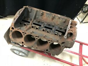 Mopar 383 1970 Dated Bare Engine Block G383 Dodge Charger Plymouth Cuda