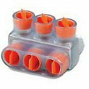 Pack Of 10 Thomas Betts Csb 350 3 Cable Block