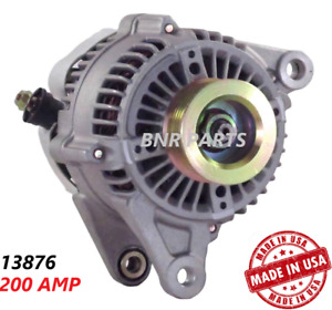 200 Amp 13876 Alternator Jeep Wrangler Tj 01 06 High Output Performance Hd New