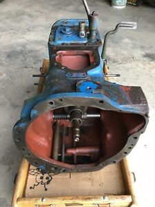 Original Ford Tractor 5 Speed Transmission Duel Stage Clutch