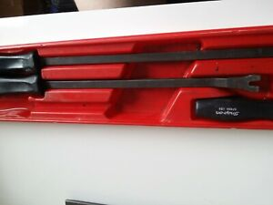 Snapon Black Handle Pry Bars With Plastic Case