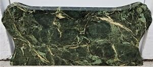 Large 40 Antique Green Italian Marble Table Bombay Chest Dresser Top Only