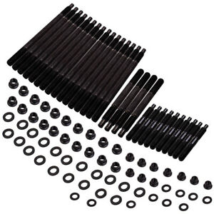 Fit Chevy Ls1 Ls2 Ls6 4 8l 5 7l 6 0l 1997 2003 12 Point Head Stud Kit