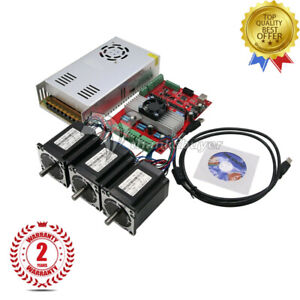 Mach3 Usb 3 axis Cnc Kit Tb6560 Stepper Motor Driver Board nema23 Stepper Motor