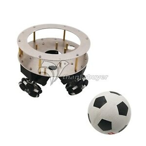Ball Balance Robot Kit Chassis Kit Robotic Diy Kit Aluminum Alloy 42 Step Motors