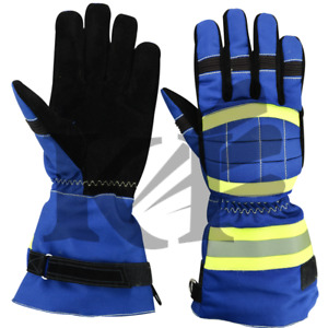 Fire Protective Gloves Anti fire Fire Proof Waterproof Heat proof Gloves 4 Pair