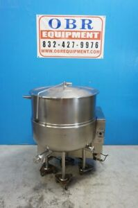 Cleveland Natural Gas 60 Gallon 2 3 Tilt Steam Jacketed Kettle Self Contained Mo