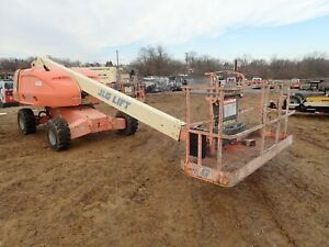 2009 Jlg 400s Telescopic Boom Lift 40 Max Work Height 33 Reach 49 Hp Deutz
