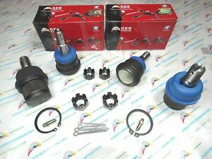 4wd Fit 03 10 Dodge Ram 2500 3500 New 4 Front Upper Lower Ball Joints K7460