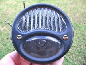 Vintage Old Harley Indian Ford Model T A Tail Light Lamp Hot Rat Rod Lqqk