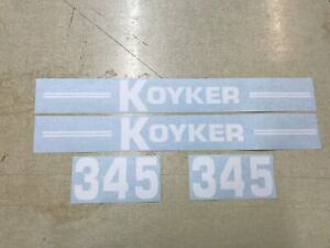 Koyker 345 Loader Decals