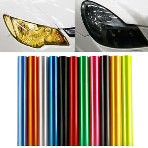 Easy Cleaning Vinyl Film Sticker Color Changing For Car Headlight Light Lamp