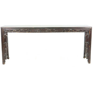 Antique Chinese Altar Console Painting Calligraphy Table 88 X 16 X 38