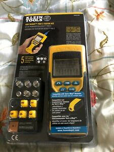 New Klein Tools Vdv Scout Pro 2 Tester Kit Vdv501 823r Voice Data Video
