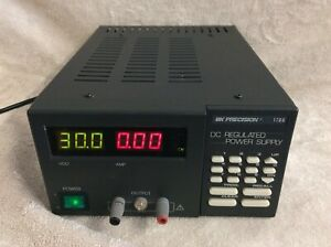 B k Precision 1786 Dc Regulated Power Supply 0 30v Dc 3a Programmable Rs 232