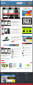 Mobile Apps Wordpress Niche Blog Website With Free Installation And Setup
