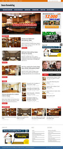 House Remodeling Wordpress Niche Blog Website With Free Installation And Setup