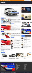 Car Dealers Wordpress Niche Blog Website With Free Installation And Setup