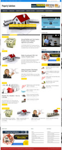 Property Solutions Wordpress Niche Blog Website With Free Installation And Setup